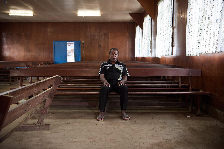Jack Urame Bishop Lutheran Church Papua New Guinea