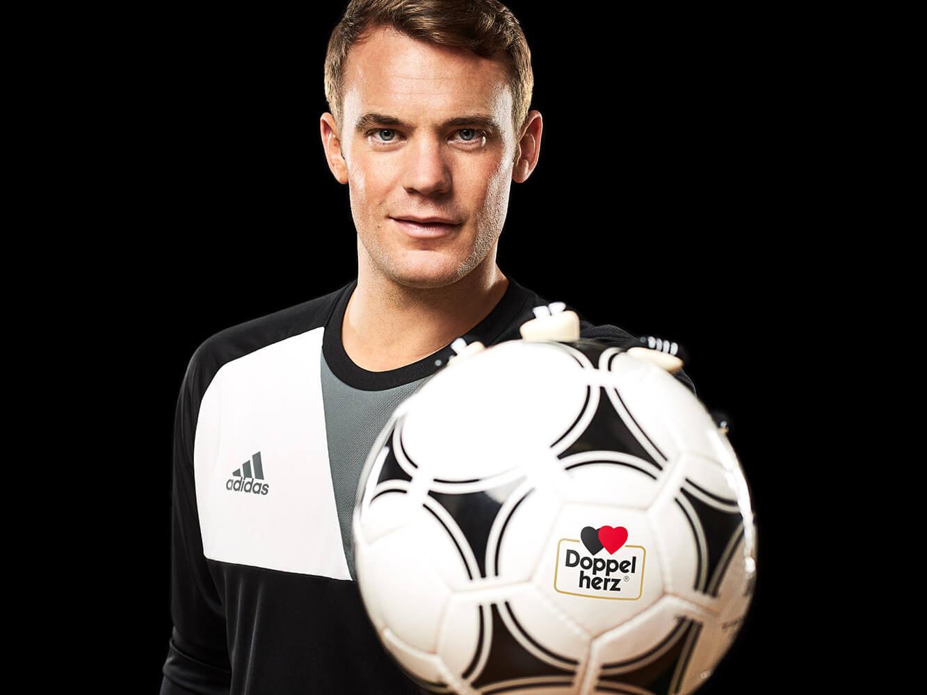 Manuel Neuer Doppelherz Queisser Pharma Fussball