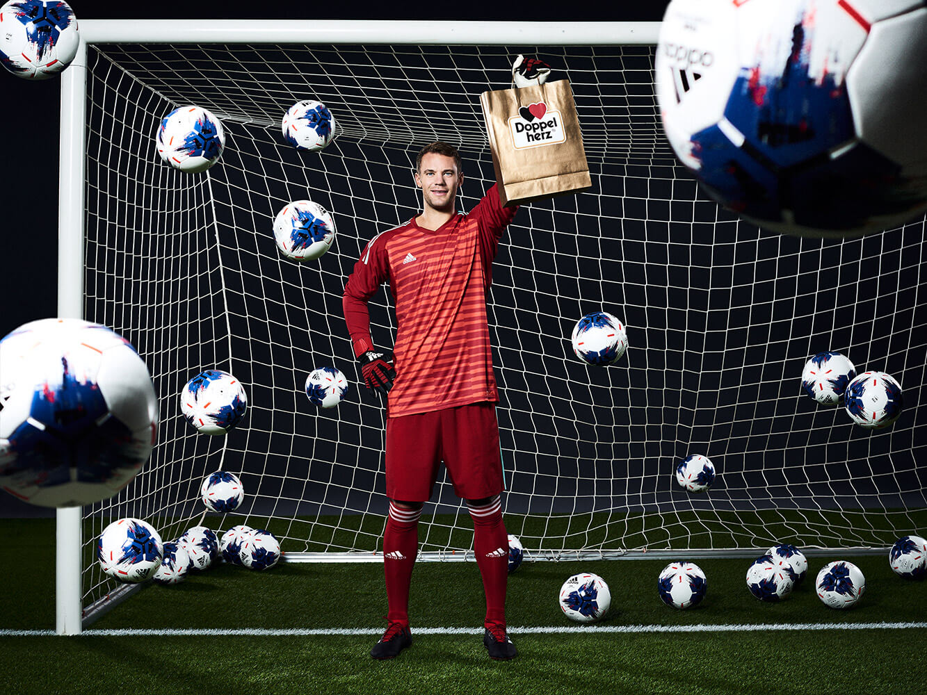 Manuel Neuer Doppelherz Queisser Pharma Volle Bude